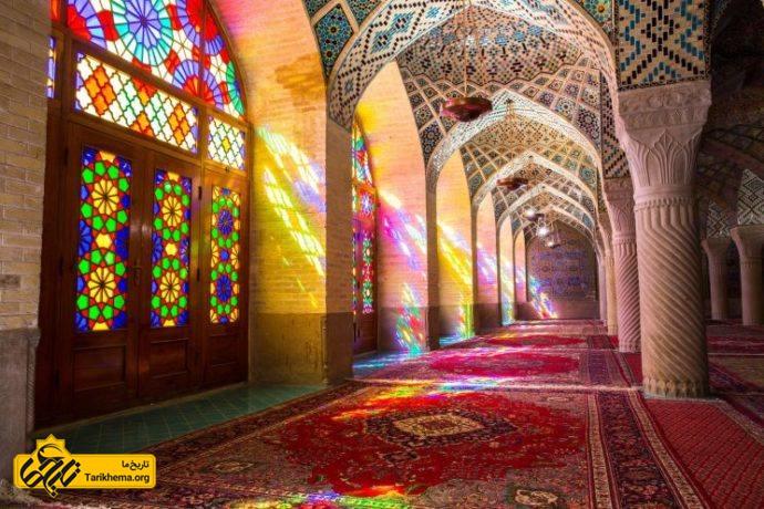 عکس iran-shiraz-mosque Tarikhema.org