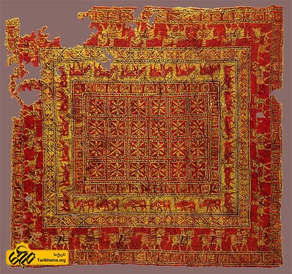 عکس پازیریک، کهن ترین فرش دنیا Tarikhema.org