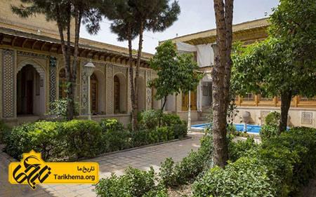 عکس خانه فروغ الملک شیراز,تصاویر خانه فروغ الملک شیراز,عکس های خانه فروغ الملک شیراز Tarikhema.org