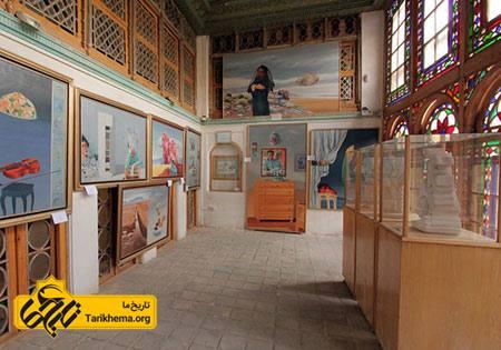 عکس خانه فروغ الملک شیراز,عکس های خانه فروغ الملک شیراز, قدمت خانه فروغ الملک شیراز Tarikhema.org