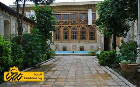 عکس خانه فروغ الملک شیراز, قدمت خانه فروغ الملک شیراز, عکس های خانه فروغ الملک شیراز Tarikhema.org