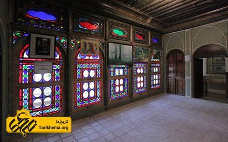 عکس خانه فروغ الملک شیراز, موزه هنر مشکین فام, عکس های خانه فروغ الملک شیراز Tarikhema.org