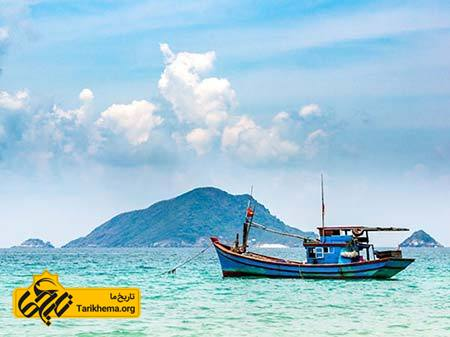 عکس زیباترین سواحل با آبهای فیروزهای,سواحل زیبا,دکان سان Tarikhema.org