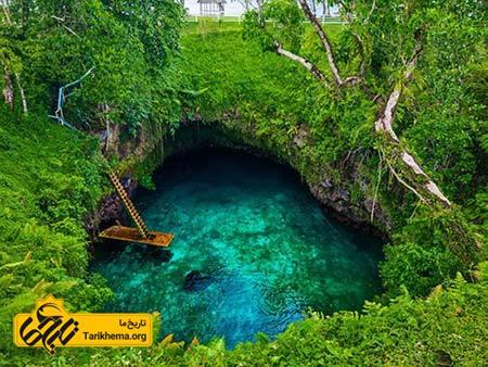عکس زیباترین سواحل با آبهای فیروزهای,سواحل زیبا,گودال تو سوآ اوشن Tarikhema.org