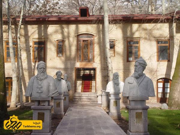 عکس Image result for موزه چهرههای ماندگار سعد اباد Tarikhema.org