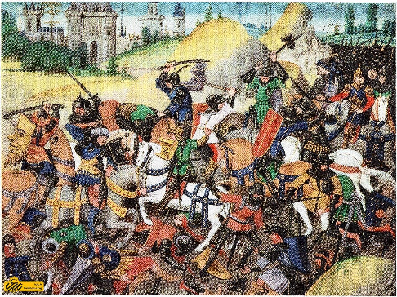 عکس نبرد صلیبیها و ترکان در اطراف شهر Tarikhema.org