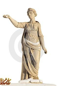 تصویر مجسمه نیم تنه از آپولو خدای سنگسار