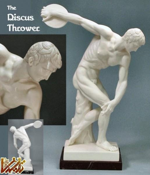 تصویر مجسمه های یونان باستان 3