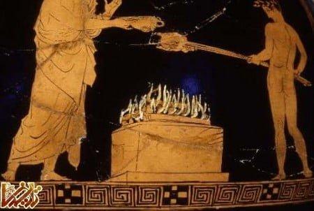 فرهنگی نقاشی در یونان باستان