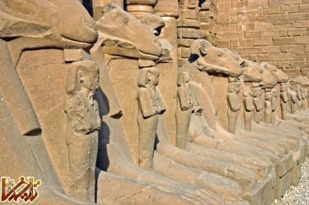 عکس های شگفت انگیز از معبد کرنک در مصر باستان