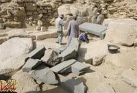 کشف بقایای گمشده اهرام در مصر