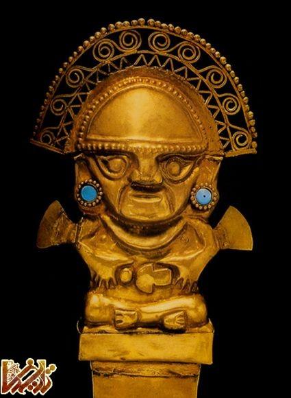 معبدی افسانهای با قربانی های انسانی در پرو