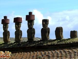 مجسمه های مرموز جزایز ایستر