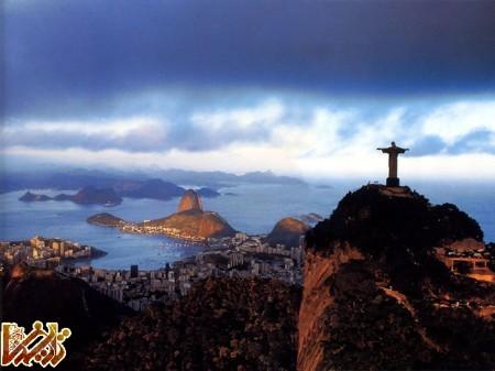 مجسمه زیبای حضرت مسیح در برزیل