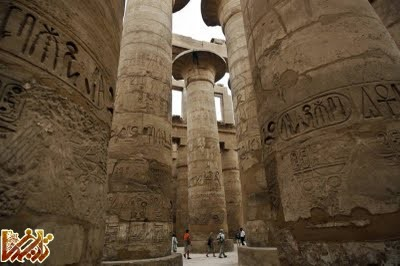 تصاویر دیدنی از آثار مصری