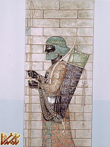 سربازان هخامنشی (2)