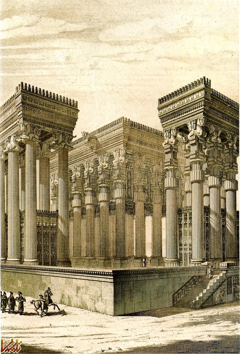 کاخ بار - آپادانا » تخت جمشید