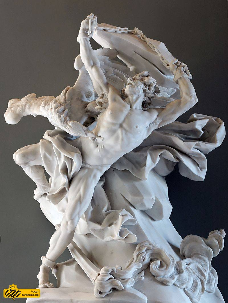 عکس پرومته یا پرومتئوس (به یونانی: Προμηθεύς)(به انگلیسی: Prometheus) در اسطورههای یونانی، یکی از تیتانها و پسر یاپتوس و کلیمنه و خدای آتش است. او عاشق آتنا دختر زئوس شد و تنها کسی بود که آتنا را بوسید. آنها بسیار همدیگر را دوست می داشتند و آتنا به او کمک کرد تا آتش را بدزدد. پس از زنجیر شدن پرومته آتنا هر هفته به دیدن او می رفت. about-zeus Tarikhema.org