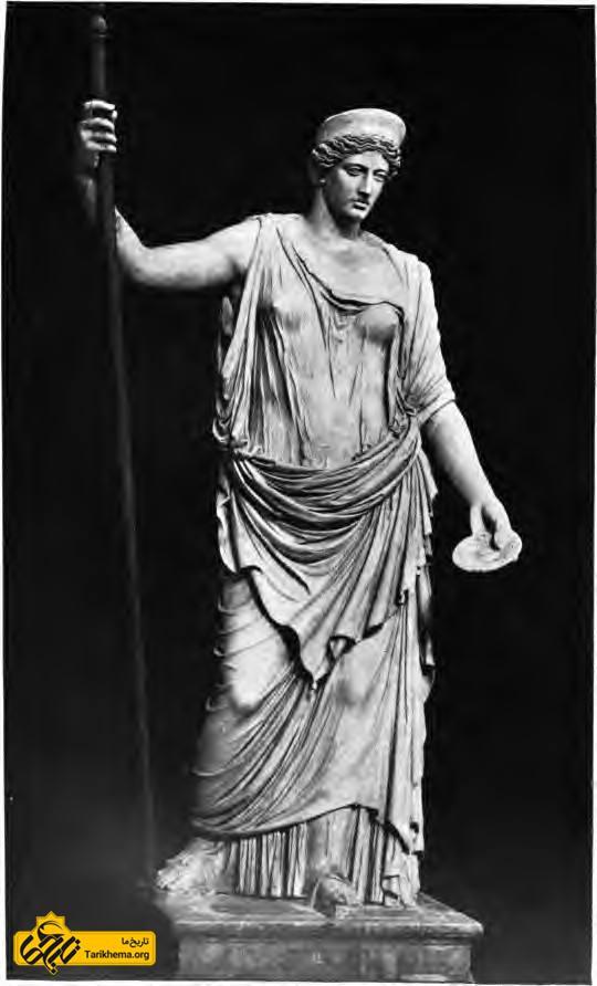 عکس هرا، الههٔبارداری (موزهٔ واتیکان) about-zeus Tarikhema.org