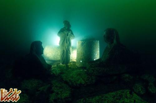 موزه در زیر آب » اسکندریه مصر