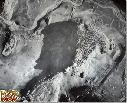ابونصر عکس هوایی دانشگاه شیکاگو