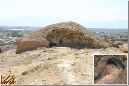 ابونصر از داخل - برج دیده بانی