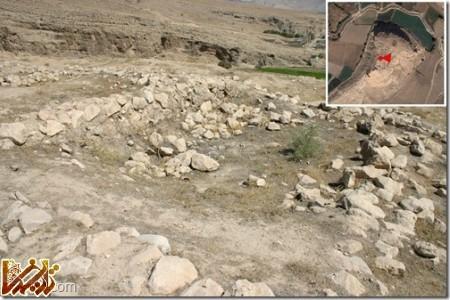 قلعه ابونصر دیوارهای داخلی