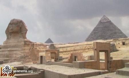 هنر معماری معابد مصریان باستان
