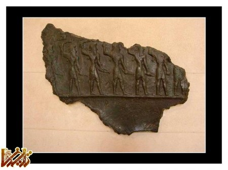 تصاویر آثار ایرانی در موزه لوور