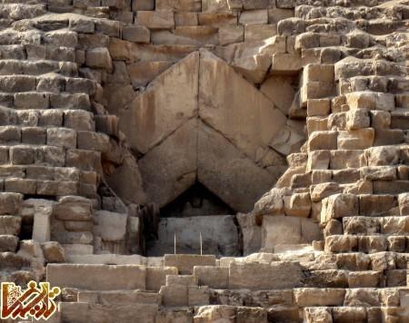اهرام ثلاثه مصر در گیزا