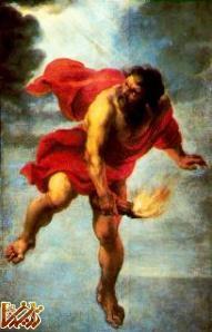 پرومته(جمشید)گناه آتش افروزی