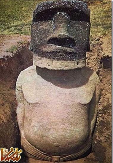 راز سرهای بی بدن جزایر ایتستر کشف شد + تصاویر