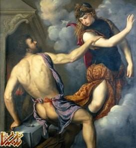 آتنا الهه جنگاوری یونان باستان