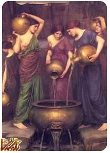 داستان دمتر (الهه حاصلخیزی یونان باستان) و دخترش پرسفونه