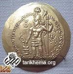 هرمز یکم در یک سکه کوشانی ساسانی