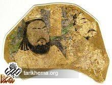 تصویر یک برگزیده مانوی مربوط به قرن دهم میلادی که در موزه برلین نگهداری میشود