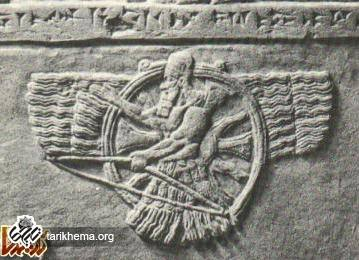 رب النوع آشور که خدای آشوری ها از 26 قرن قبل از میلاد تا قرن هفتم قبل از میلاد مورد پرستش بوده.