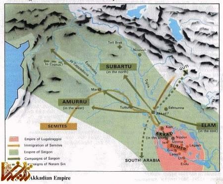 ساراگون کبیر اولین بنیانگذار اولین امپراتوری روی زمین