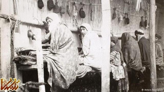 دختران فرشباف در زمان قاجار