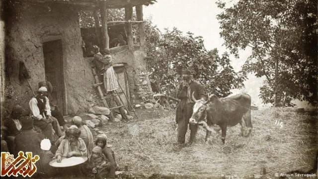 زندگی روستایی در دوران قاجار