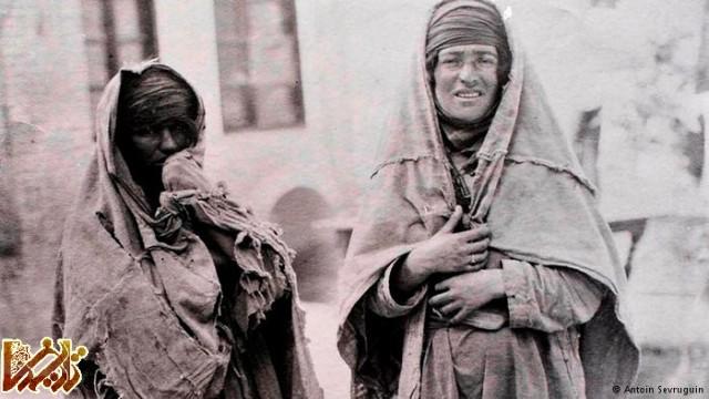 پرترهای از دو گدا در زمان قاجار