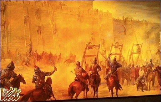 نقش احتمالی خلیفه عباسی در برافروختن آتش حمله مغول به ایران