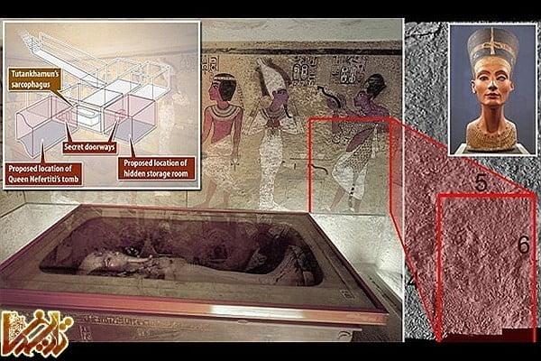 کشف جدید: مقبره توتعنخ آمون دو اتاق مخفی دارد!
