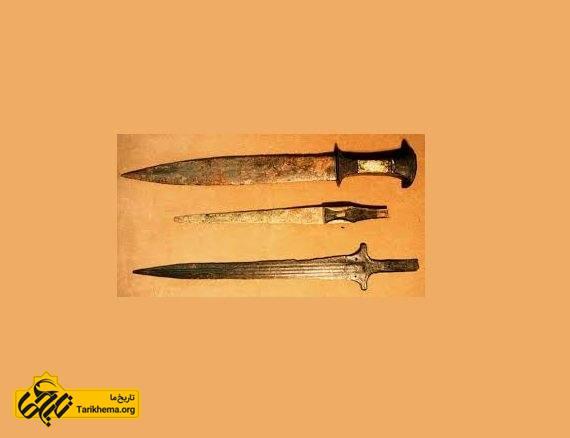 گونه ای از ابداعات در بین النهرین با استفاده از فلز