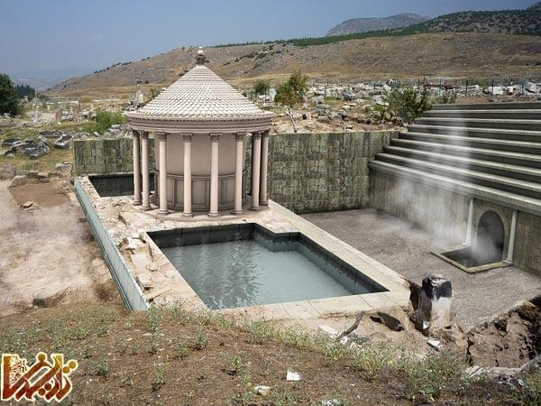 شرح عکس: نمای دیجیتالی از چشمانداز احتمالی معبد هادس