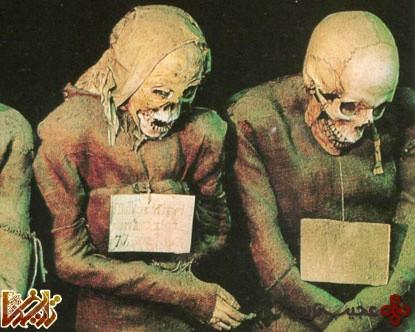 صومعه سيسيل يا موزه مرگ، جايی که جنازه ها به خط شده اند!