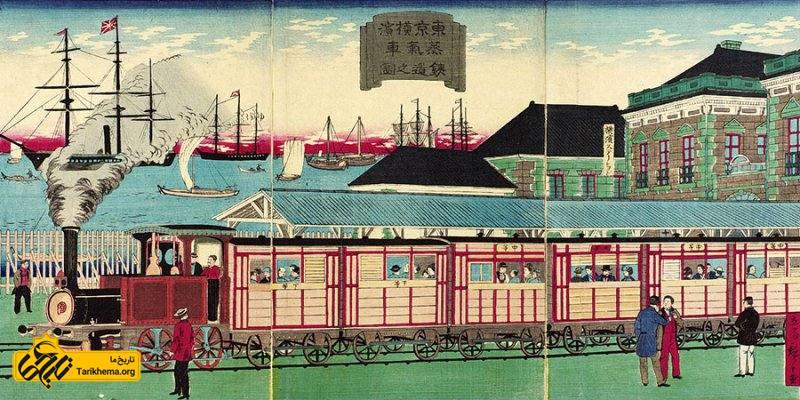 انقلاب صنعتی در ژاپن