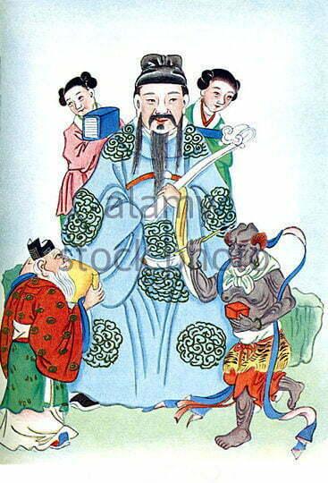 نمایش در هنر چین