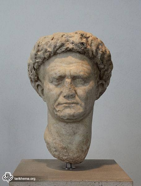 سر سنگی وسپاسین | موزه ملی روم، ایتالیا | تاریخ ما