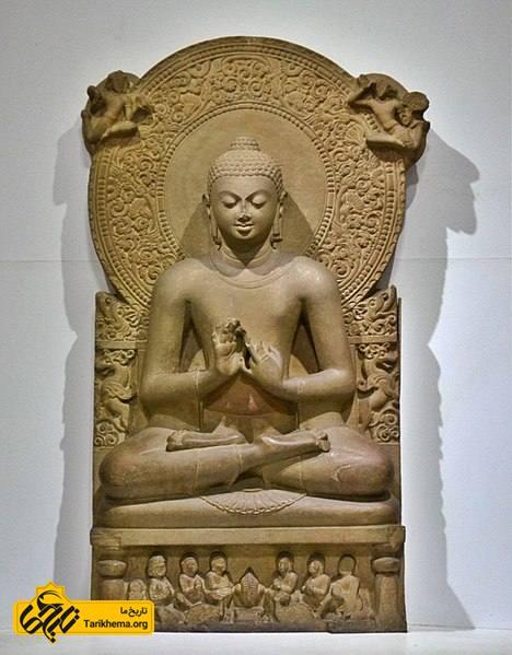 مجسمه بودا (260 سانتیمتر) از سارنات، هند   مکان: موزه سارنات   تاریخ ما